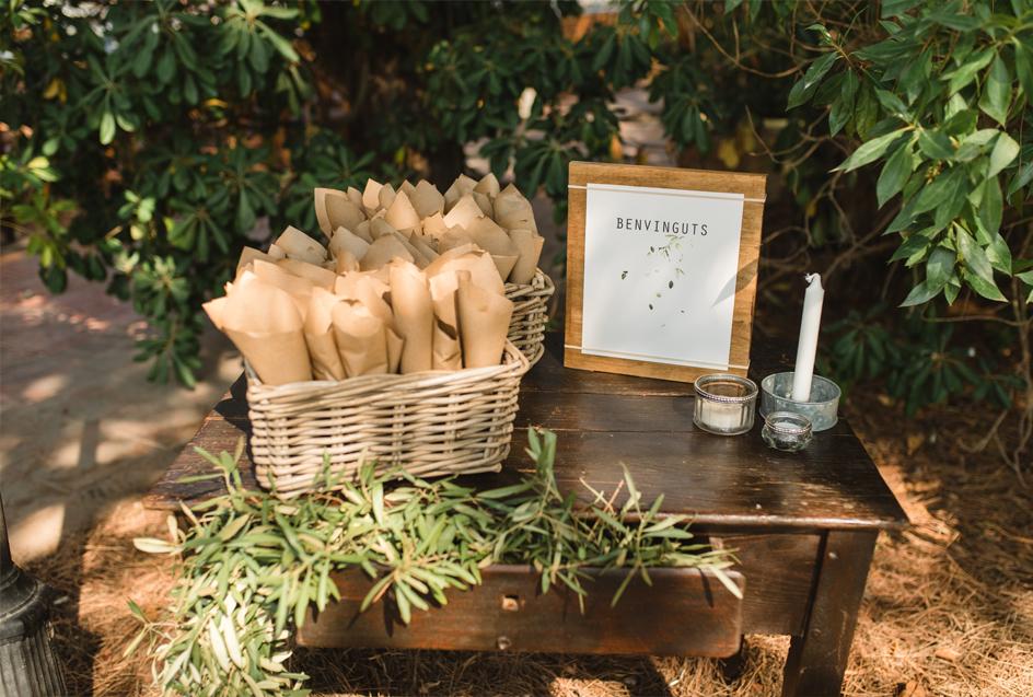 Invitación de boda en acuarela Eco Slow con eucaliptos